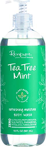 Renpure Tea Tree Mint Body Wash, 19 Ounces