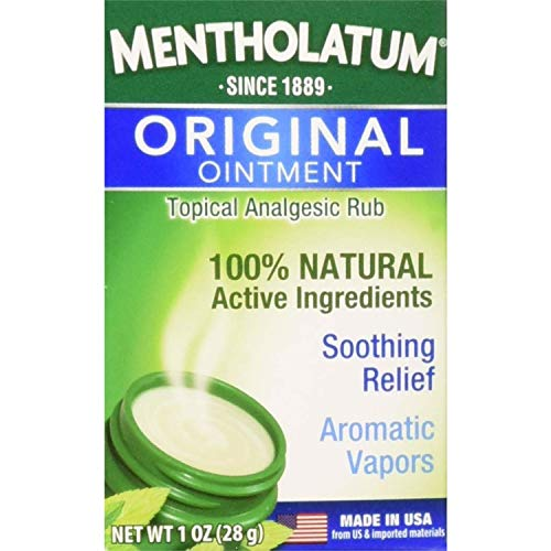 Mentholatum Topical Analgesic Ointment, 1 Ounce