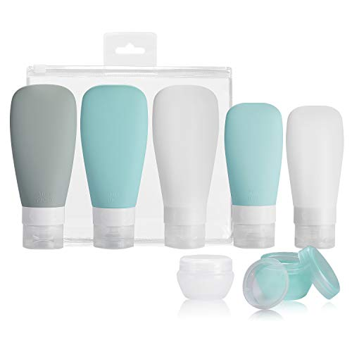 Top 9 Silicone Travel Bottles Set – Refillable Cosmetic Containers