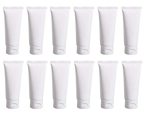 Top 10 Toothpaste Bulk 100 Pack – Refillable Cosmetic Containers