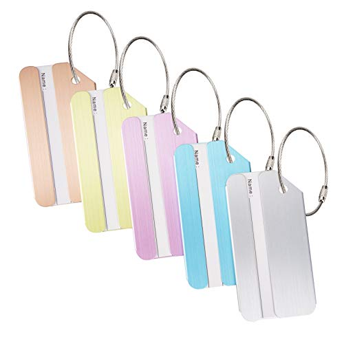 Top 10 Name Tag Holders with Clip – Luggage Tags