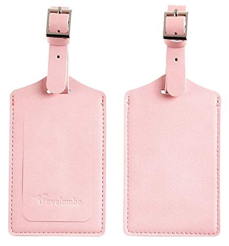 Top 10 Initial Luggage Tag Pink – Luggage Tags
