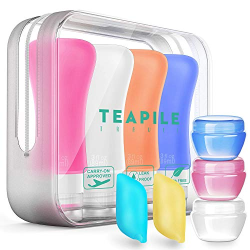 Top 10 Leak Proof Travel Bottles TSA – Refillable Cosmetic Containers