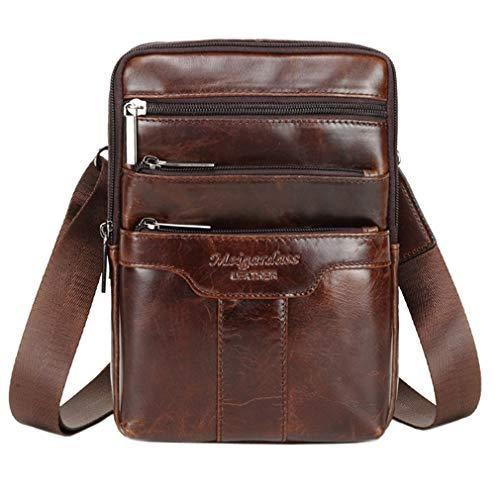 Top 9 Man Shoulder Bag Leather – Messenger Bags