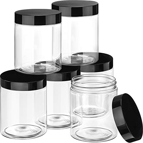 Top 10 10oz Jars with Lids Plastic – Refillable Cosmetic Containers