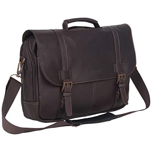 Top 10 Mens Leather Messenger Bag – Laptop Briefcases