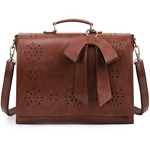 Top 10 Womens Briefcase Shoulder Bag Vegan – Briefcases