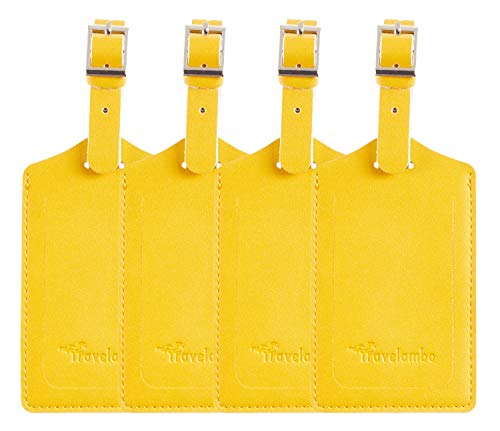 Top 10 Yellow Luggage Tags for Women – Luggage Tags