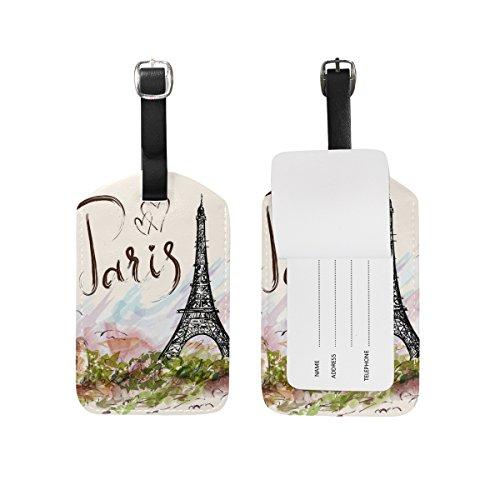 Top 10 Paris Luggage Tags – Luggage Tags