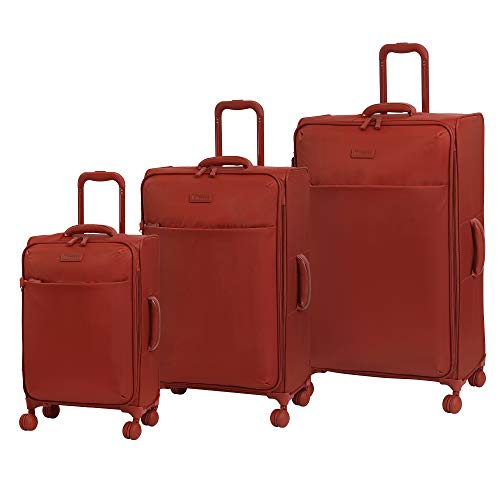 Top 10 Red Suitcase with Spinner Wheels Set – Luggage Sets