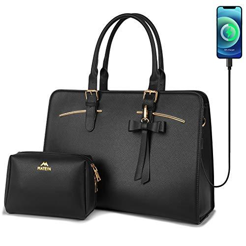 Top 9 Black Tote Bag for Women With Zipper – Laptop Messenger & Shoulder Bags