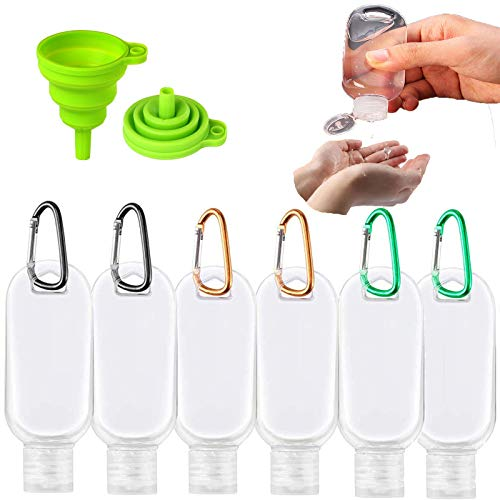 Top 10 Large Refillable Hand Sanitizer Bottles – Makeup Bags & Cases