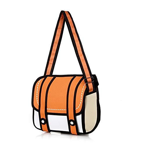 Top 10 2D Drawing Cartoon Bag – Messenger Bags
