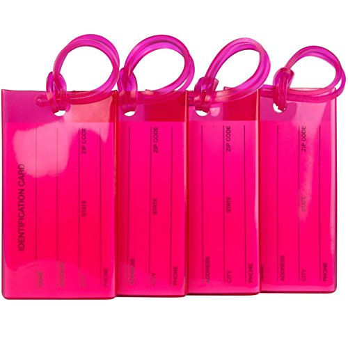 Top 10 Hot Pink Luggage Tag – Luggage Tags