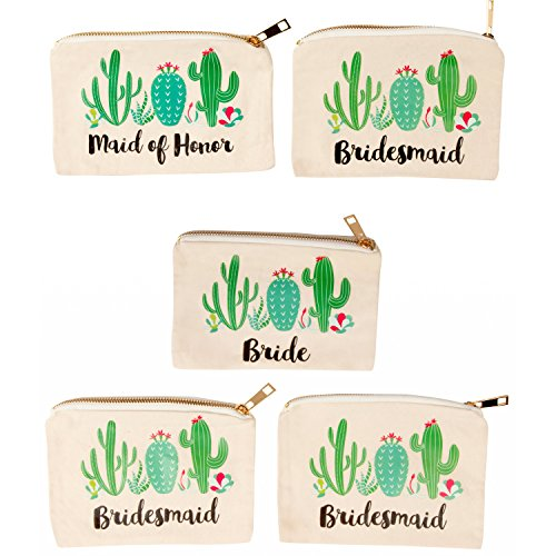 Top 10 Cactus Party Decorations – Cosmetic Bags