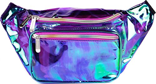 Top 10 Holographic Fanny Pack – Fashion Waist Packs