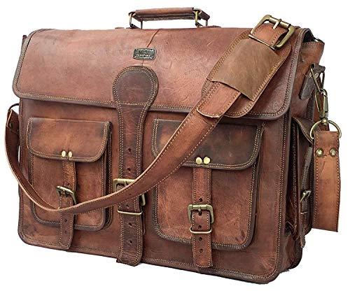 Top 10 Journal Vintage Leather – Laptop Messenger & Shoulder Bags