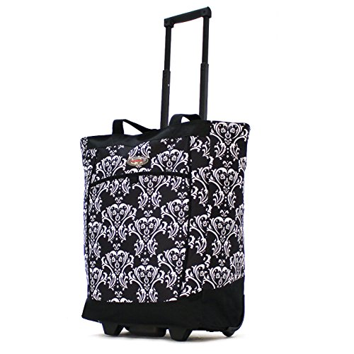 Top 10 Tote With Wheels And Pull Handle – Luggage