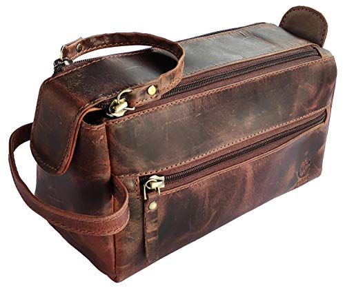 Top 10 Mens Leather Travel Bag Toiletry Kit – Toiletry Bags