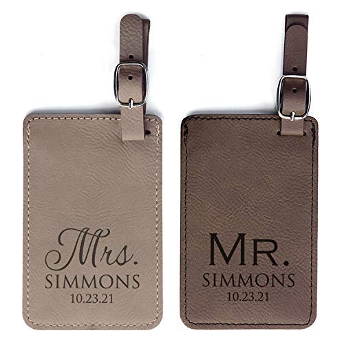 Top 10 Personalized Leather Luggage Tags – Luggage Tags