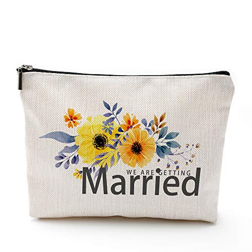 Top 10 Bridesmaid Flowers For Wedding – Cosmetic Bags