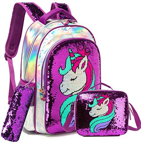 Top 10 Girls Unicorn Backpack and Lunch Box Set – Kids' Backpacks