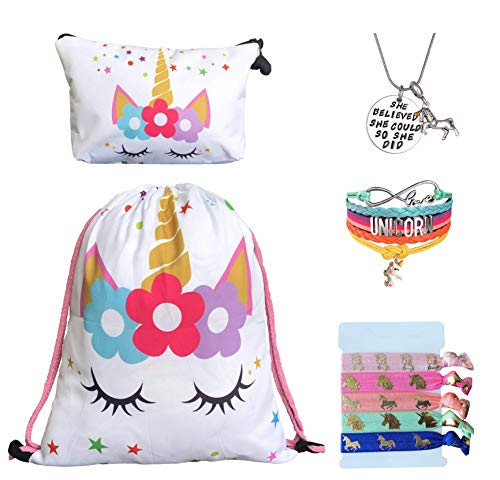 Top 10 Girl Hair Accessories Gift Set – Gym Drawstring Bags