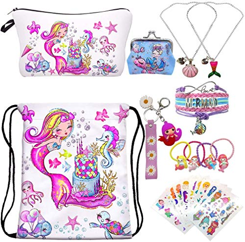 Top 10 Mermaid Necklace for Girls – Gym Drawstring Bags