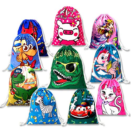 Top 10 Party Bags for Kids Birthday – Gym Drawstring Bags